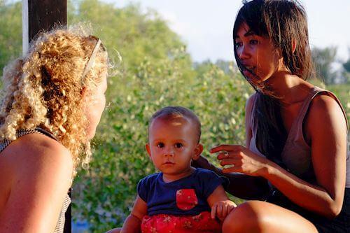 Gili Meno with family