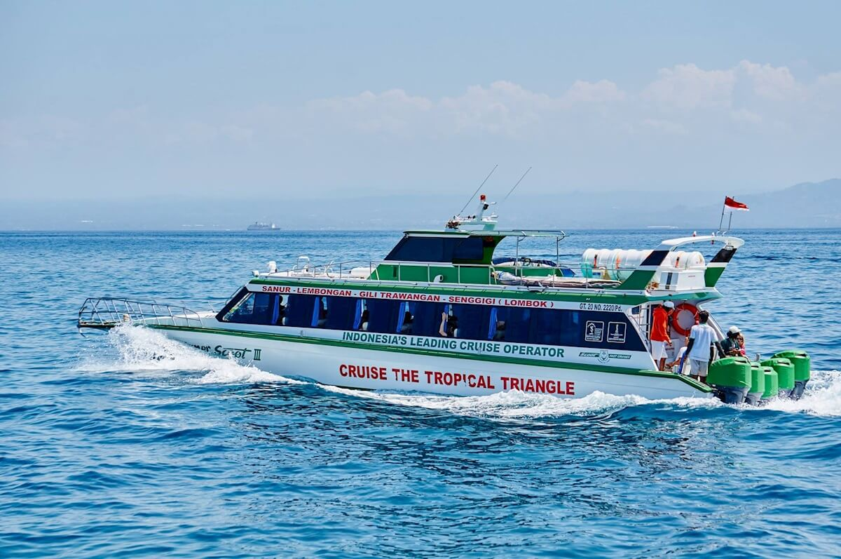 Fast Boat to Gili From Sanur
